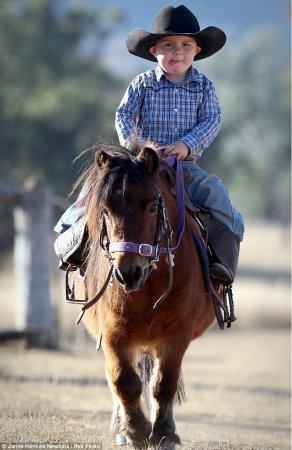 Самый юный ковбой в мире