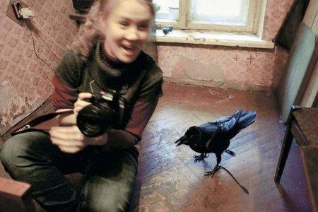 Необычная дружба человека и птицы (5 фото)